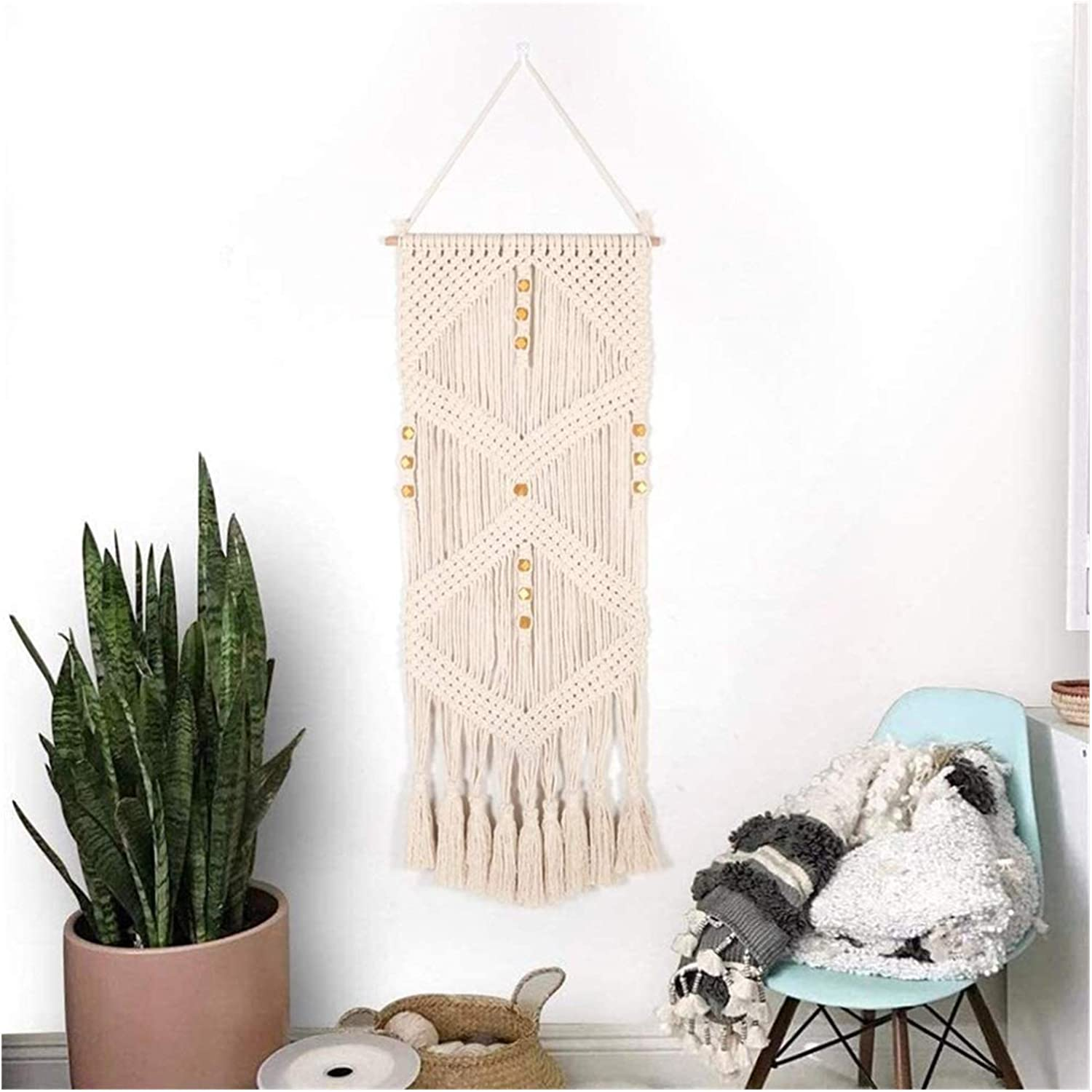 Wall Tapestry for Bedroom Wa Macrame Woven Some reservation Washington Mall Hanging