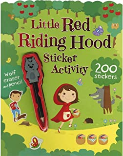 Little Red Riding Hood Sticker Activity