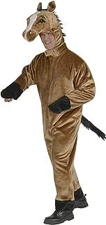 Forum Novelties Men's Deluxe Plush Horse Mascot Adult Costume