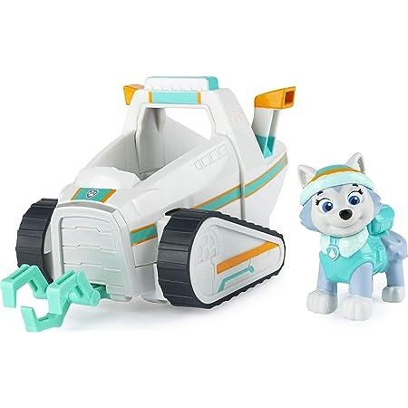 Quitanieves de Everest de la Patrulla Canina, con Figura Coleccionable, para niños a Partir de 3 años