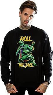 Men's Nightmare Before Christmas Oogie Boogie Dice Sweatshirt
