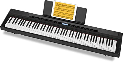 Donner DEP-20 Beginner Digital Piano 88 Key Full Size Weight