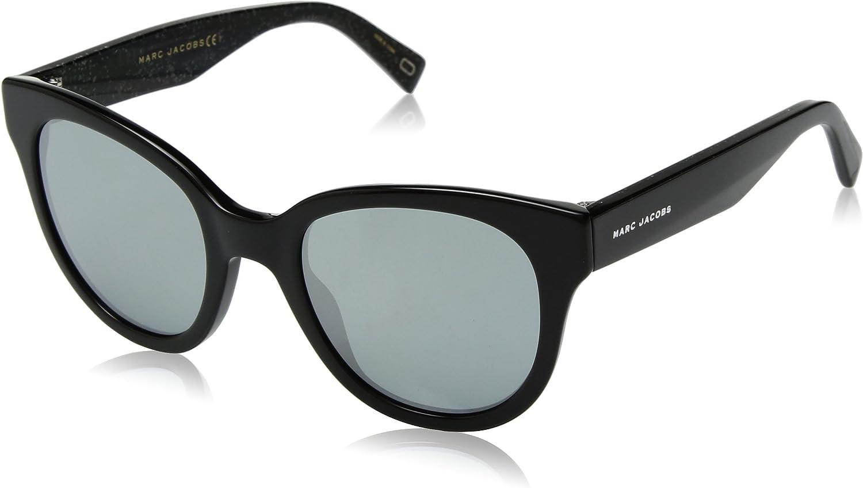 Marc Jacobs Women's Marc231s Cateye Sunglasses, BK GLITTR, 50 mm