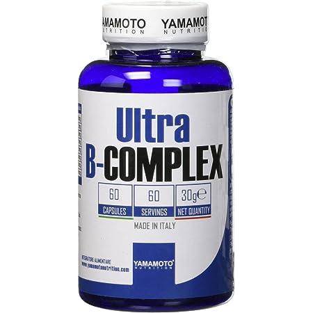 Ultra B-COMPLEX integratore alimentare di vitamine del gruppo B ad alto dosaggio 60 capsule