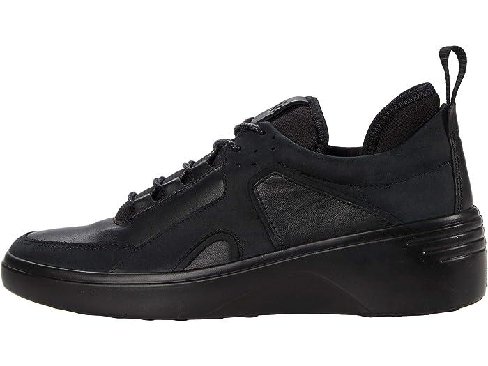 ECCO Soft 7 Wedge City Sneaker | Zappos.com