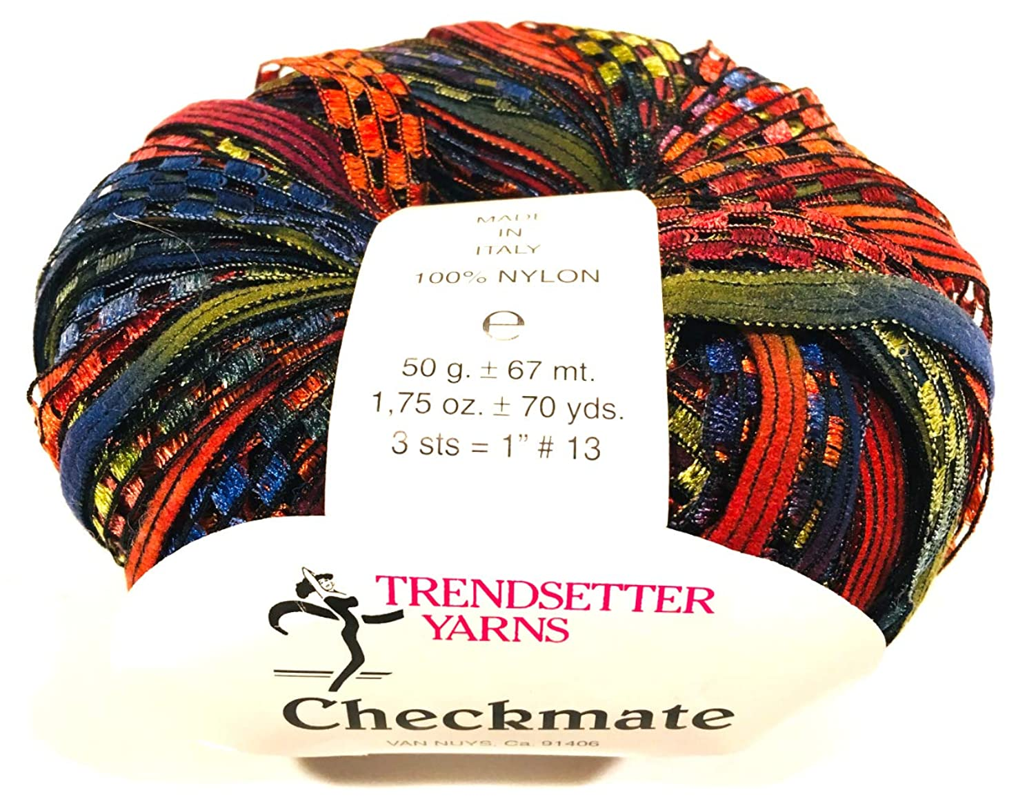 Checkmate 1040 Trendsetter Yarns 70 yds - Made in Italy