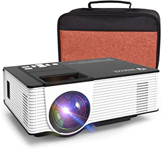 Zeacool Mini HD Video Projector with Carrying Case,...