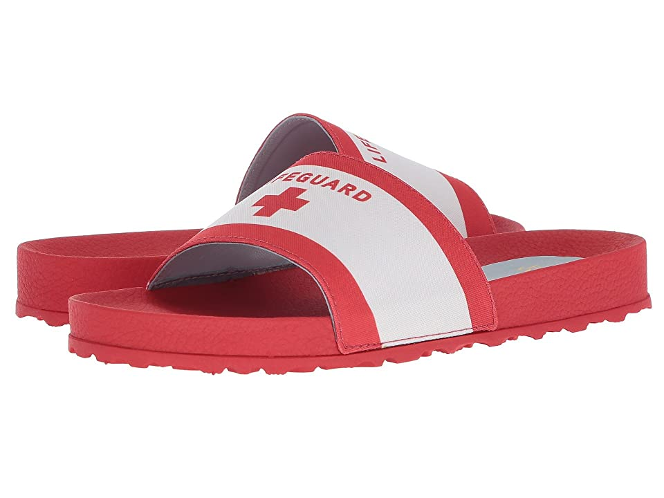 Frances Valentine Mai Lifeguard (White/Red Canvas) Women