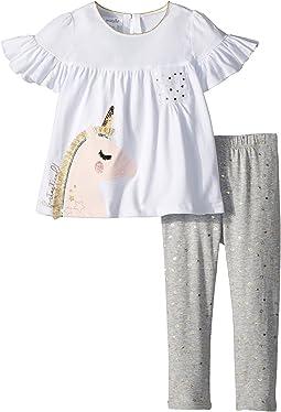Unicorn Tunic and Leggings Two-Piece Set (Infant/Toddler)