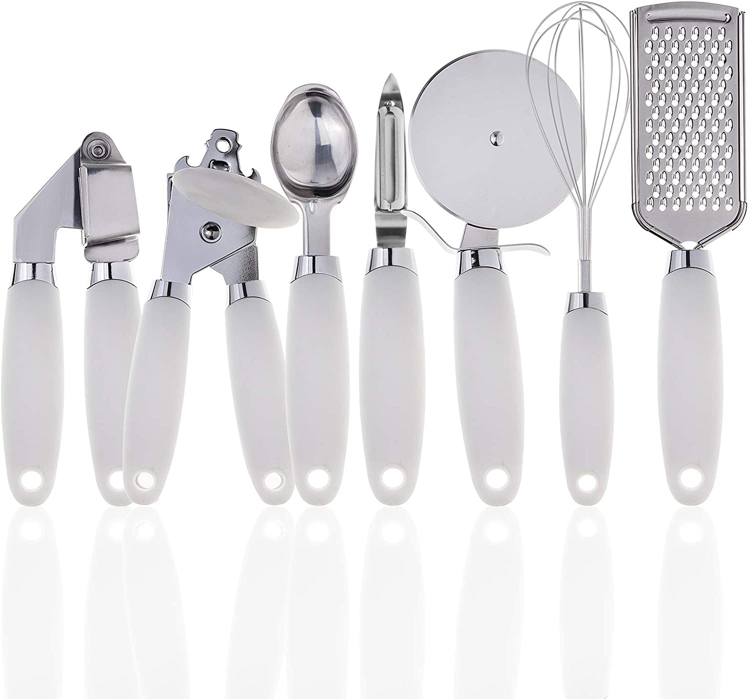 COOK With COLOR 7 Pc Kitchen Stainless Gadget Steel Limited time trial price Popular products Utensils Set