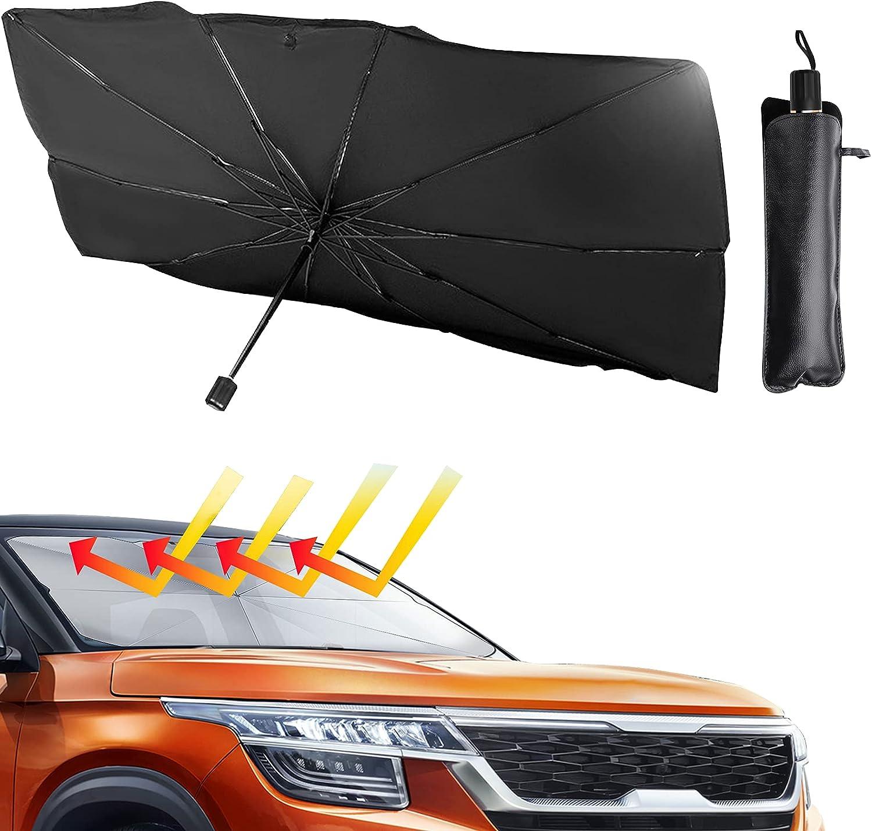 Ankuka Car Windshield Sun Shade $12.74 Coupon