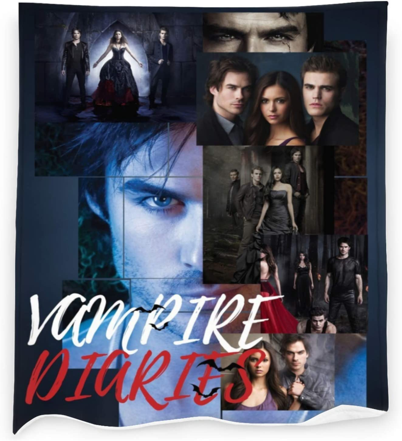 The-Vampire-Diaries Throw Blanket Flannel for Popular product Bedding Blankets 100% quality warranty