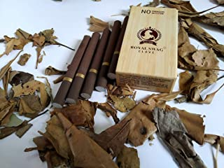 Royal Swag Herbal Cigarette Clove 100% 1x10 Nicotine & Tobacco Free Cigarettes - Pack of 1