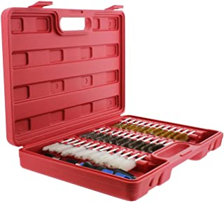 ABN Auto Wire Brush 38-Piece Set – Stainless Steel,...