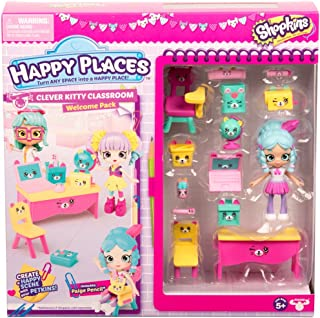 Shopkins Happy Places Season 3 Welcome Pack - Clever Kitty Classroom