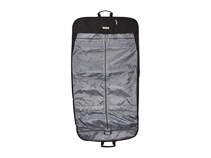 Kenneth Cole Reaction  Polyester Folding Garment Sleeve (Black) Luggage
