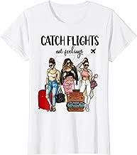 Womens Catch Flights Not Feelings T-shirt I Heart Natural Hair Shir