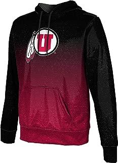 ProSphere University of Utah Men's Pullover Hoodie, School Spirit Sweatshirt (Ombre)