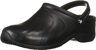 AnyWear Women's Zone Health Care Professional Shoe, Black, 13W Wide US