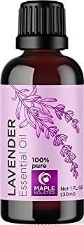 Pure Lavender Essential Oil for Skin and Hair - Therapeutic Grade Essential Oil for Sleep - Natural Stress Relief for Wome...