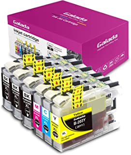 Galada Compatible Ink Cartridge Replacement for Brother LC201 LC203XL LC203 XL for MFC J480DW MFC J485DW MFC J880DW MFC J460DW MFC J4620DW MFC J4420DW MFC J5520DW MFC J680DW Printer 203 6pack
