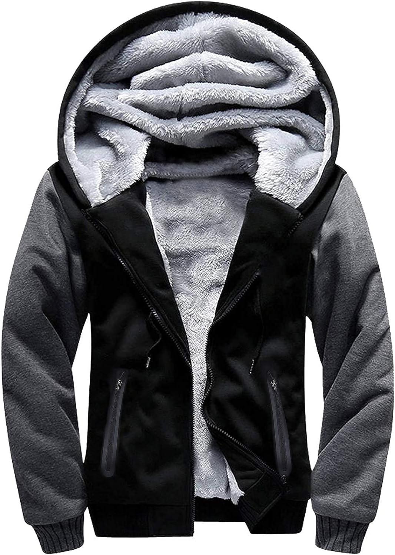 SWISSWELL Hoodies for Men Fleece shipfree Up Outstanding Zip Jacket Sweatshirt Winter