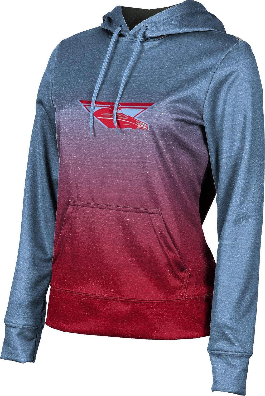 ProSphere Lumberton High School Girls' Pullover Hoodie, School Spirit Sweatshirt (Ombre)