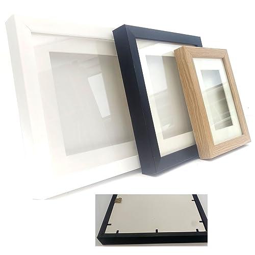 4373a1bd0240 The Frame Centre 4 x 4 x 0.6 Depth. Colour  White 3D Box Frame