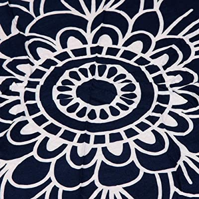 ZHQUN Round Beach Towel 150cm Polyester Beach Towel Adults Tablecloth Toalla Playa Mandala Serviette De Plage
