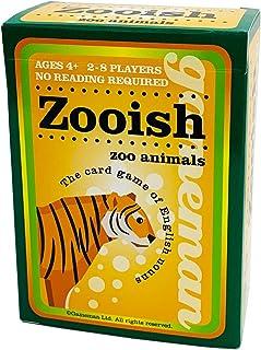 ゲームマン えいご 名詞 カードゲーム Zooish zoo animals 613464422426