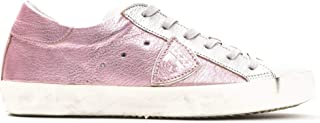 Philippe Model Sneakers Paris L DMIXAGE Metallizzata Scarpa 100% Pelle Made in Italy Donna CLLDXY31