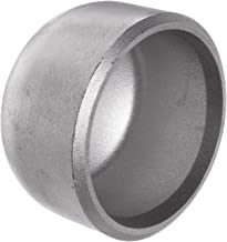 Stainless Steel 316/316L Pipe Fitting, Cap, Butt-Weld, Schedule 40, 6