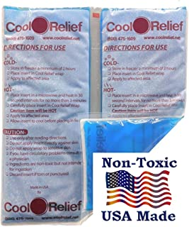 Reusable Long Lasting Ice Pack for Injuries - Flexible When Frozen Use for Hot/Cold | Can Be Cut Into 2 Ice Packs