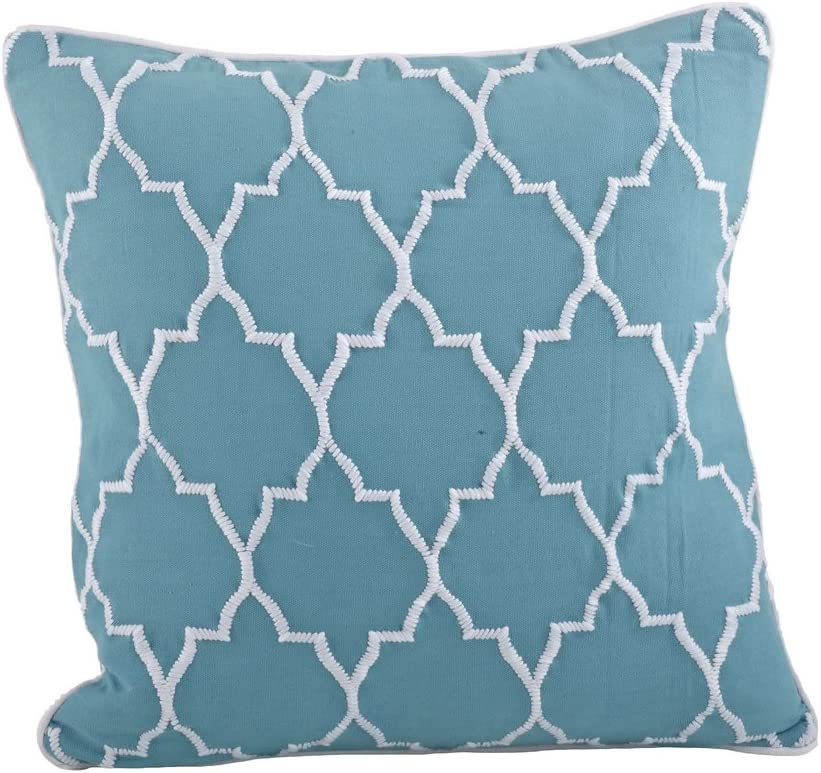 fenncostyles.com Stitched Moroccan Down Decorative Same day shipping Ranking TOP12 Filled Throw