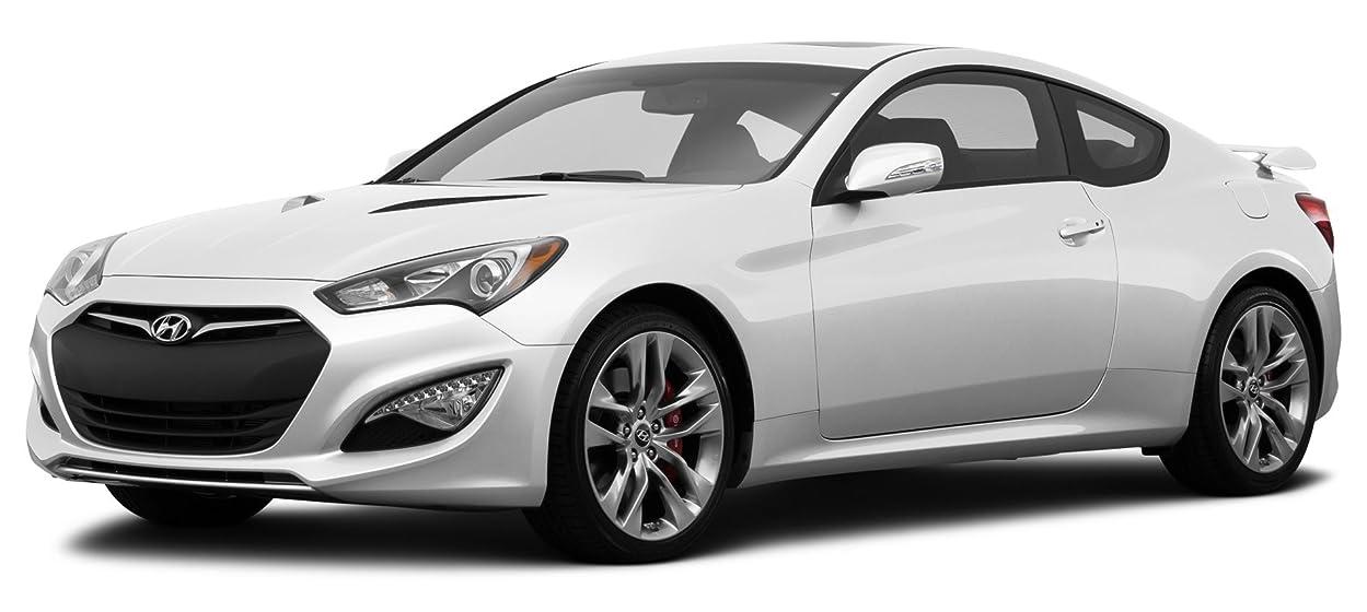 2015 Hyundai Genesis Coupe 3 8l Ultimate 2 Door Manual Transmission W Black Seats Casablanca White