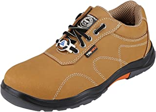 ACME TanX Men's Camel Leather Safety Shoes (Size - ACME023-42)