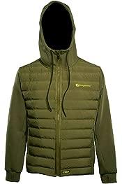 Ridgemonkey APEarel Dropback Heavyweight Zip Jacket Green