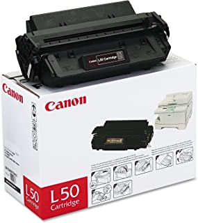 Canon Genuine Toner, Cartridge L50 Black (6812A001), 1 Pack, for Canon PC100 / 300 / 400 / 530 / 700 / 900 Series Peronal Copiers