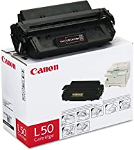 Canon Genuine Toner, Cartridge L50 Black (6812A001), 1 Pack, for Canon PC100 / 300 / 400 / 530 / 700 / 900 Series Peronal Copiers