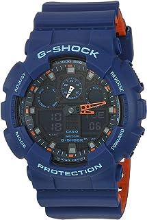 Casio Men's G Shock Quartz Watch with Resin Strap, Multi, 28.8 (Model: GA-100L-2ACR)