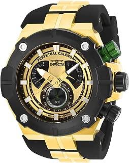 Invicta Men's Sea Hunter Stainless Steel Quartz Watch with Silicone Strap, Black, 31 (Model: 29953)