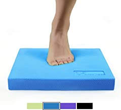 RitFit Balance Foam Pad - TPE Non-Slip Mat for Fitness & Balance Exercises,Yoga, Physical Therapy ,Multi Colors & Large or X-Large