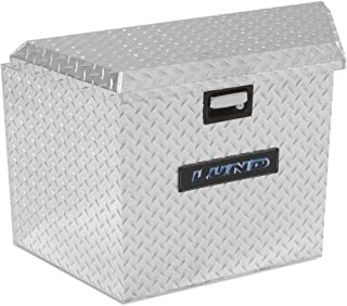 Lund 6134T 21-Inch Aluminum Trailer Tongue Truck Box, Diamond Plated, Silver
