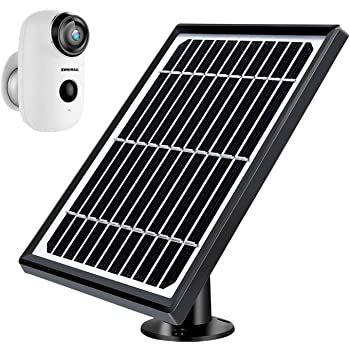 ZUMIMALL Solar Panel for Outdoor Security Camera A3/A3P, Waterproof Solar Panel with 10ft Charging Cable ( No Camera)
