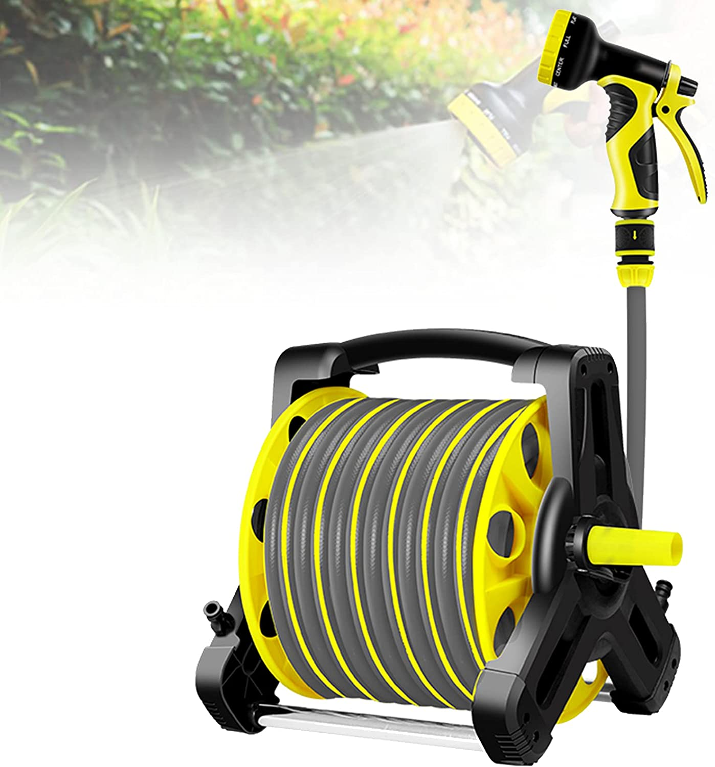 Award-winning store EnweMahi Wall-Mounted Reel Steady Hose Tripod Material Sales of SALE items from new works Pp