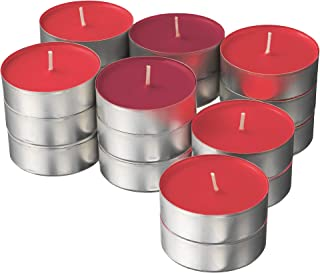 comprar comparacion Ikea SINNLIG - Velas perfumadas (59 mm, 24 Unidades), diseño de Bayas de jardín, Color Rojo