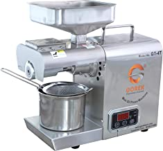 GT-4T Automatic Oil Maker Machine 400W with Simplified Temperature Controller Multi Purpose Use