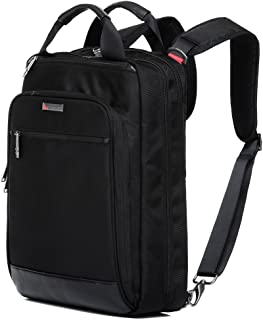 QANTAS Convertible Briefcase, (Black), (QF3-A)