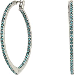 Vera Bradley - Sparkling Small Hoop Earrings