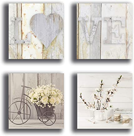 Amazon.it: Shabby Chic - Stampe e quadri su tela / Stampe e quadri ...
